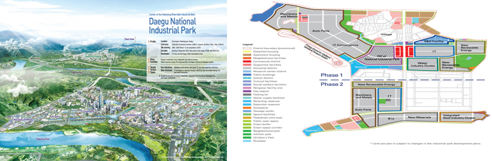 Daegu National Industrial park