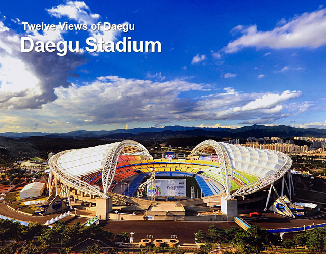 Twelve Views of Daegu Daegu Stadium
