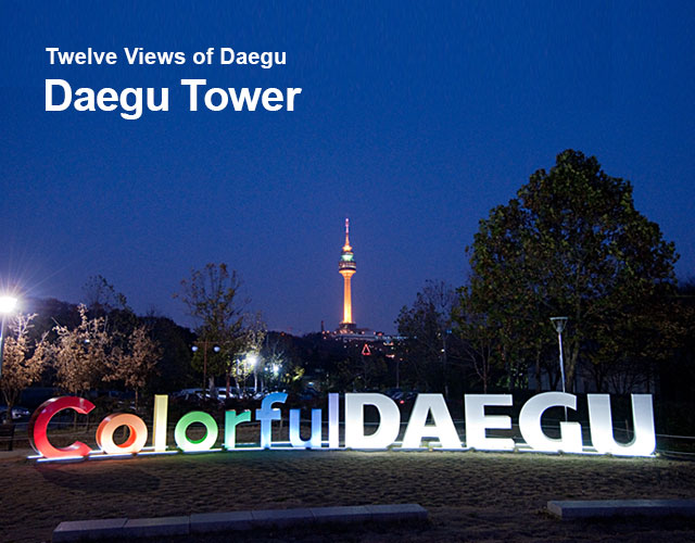 Twelve Views of Daegu Daegy Tower
