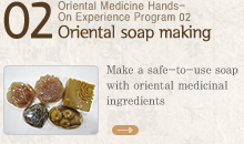 Oriental soap making